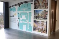 Lexicon wall graphic