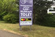 Development signage