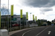 Flags & flagpoles, created & erected