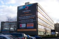 Banners, building wraps