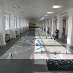 Signcraft floor and wall vinyl